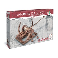 Leonardo Da Vinci Catapult Model Kit - Italery
