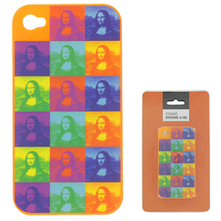 Case for iPhone 4/4S - Monna Lisa pop