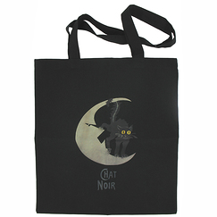 "Bag ""Chat noir (Black cat)"