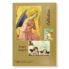 10 Notecards and envelopes Angels