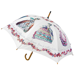 Stick umbrella - Engravings of fashion at the time of Marie-Antoinette