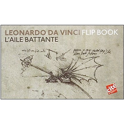 Leonardo da Vinci : flip book - Bird flight and Flapping wing