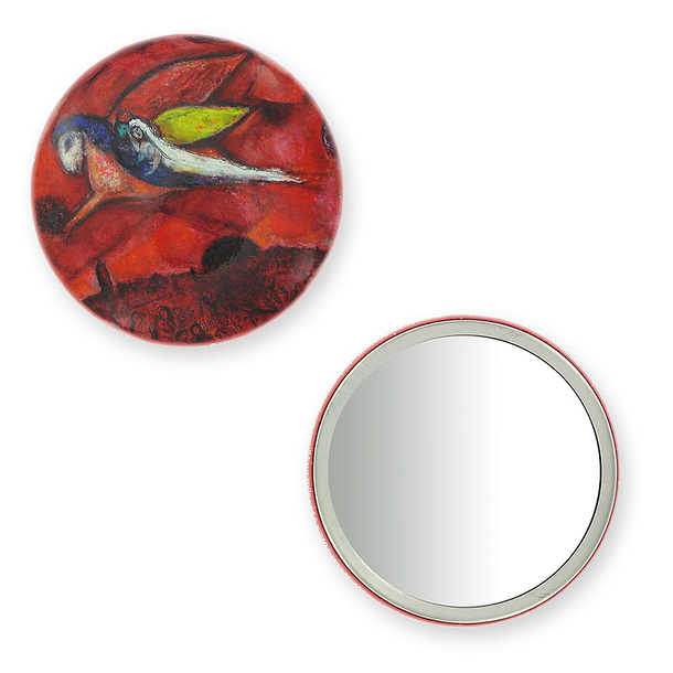 "Purse mirror ""Song of Songs IV"" - Marc Chagall"
