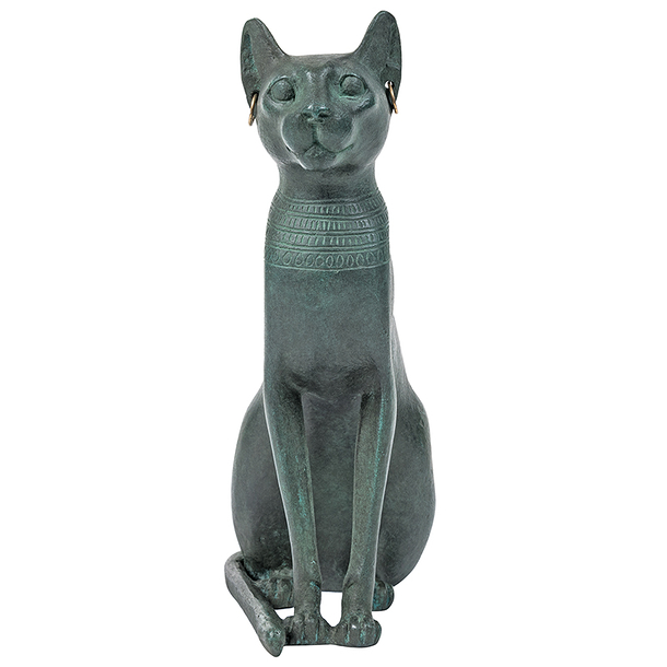 Goddess Bastet as a cat - Bronze