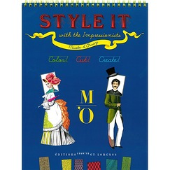 Style it with the Impressionists - Color, cut, create !