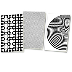 """Dynamo"" exhibition 3 Small Notebooks Set"