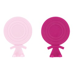 Set de 4 dessous de verre Big head