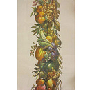 """Fruits & vegetables"" Tea towel"