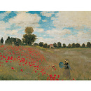 Poster The Poppies by Claude Monet