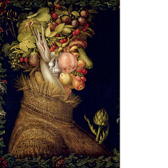 Poster The Summer by Arcimboldo