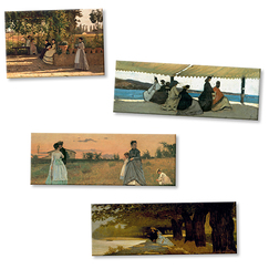 Exhibition Magnets Macchiaioli