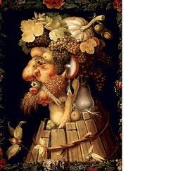 Poster The Autumn by Arcimboldo