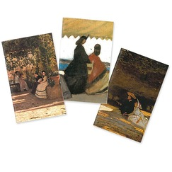 """The Macchiaioli, Italian Impressionists"" exhibition 3 Small Notebooks Set"