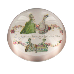 Engravings of fashion at the time of Marie-Antoinette - Paperweight