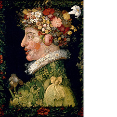 Poster The Spring by Arcimboldo