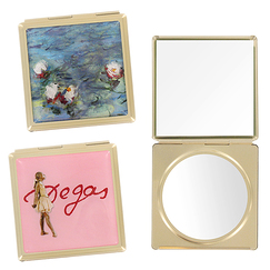 Degas & Monet 2 Purse Mirrors Set