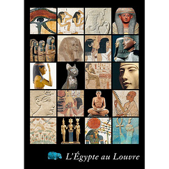 Poster Egypt at Louvre