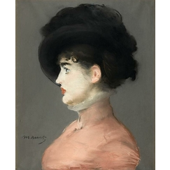 The Viennese: Portrait of Irma Brunner in a Black Hat