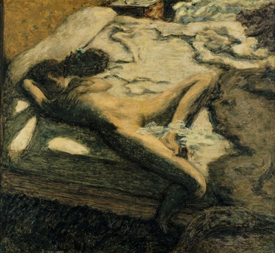 Woman Dozing on a Bed or The Indolent Woman