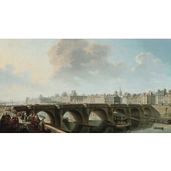The Pont Neuf and the Samaritaine, in Paris