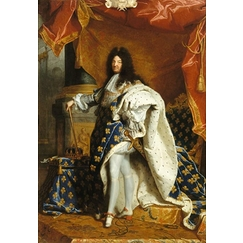 Louis XIV, King of France, full-length portrait in royal costume