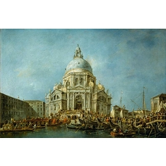 The Doge of the Venice Goes to the Salute on the 21 November