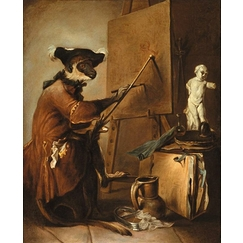 The Monkey Painter