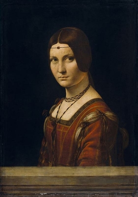 Portrait of a Lady from the Court of Milan