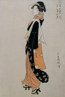 Otatsu of Ryôgoku in Edo
