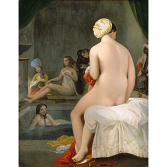 The little bather - Interior of a harem