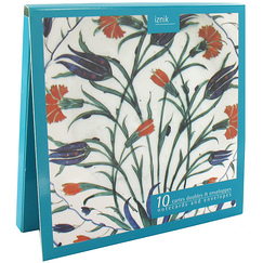 10 Notecards and envelopes Iznik
