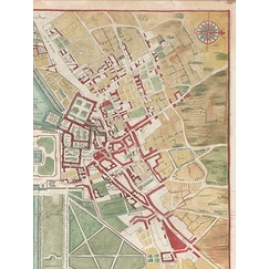 General plan of Fontainebleau