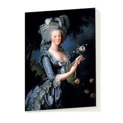 Marie-Antoinette à la rose - Notebook