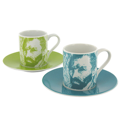 "Van Gogh ""Self-Portrait"" Set Espresso"