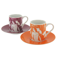 "Gauguin ""Arearea"" Set Espresso"