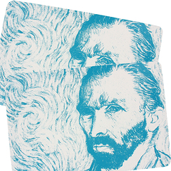 "Set of 2 Van Gogh ""Self-Portrait"" Placemat"