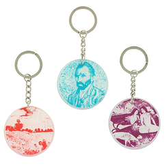 "Set of 3 ""Orsay Museum"" key rings"