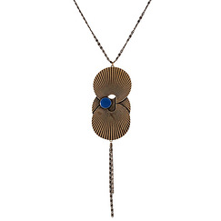"""Aurore"" long necklace"