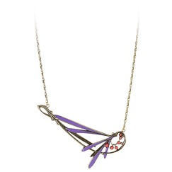 """Prunelle"" necklace"