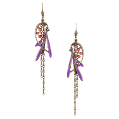 """Prunelle"" earrings"