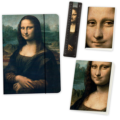 Mona Lisa Stationnery Set