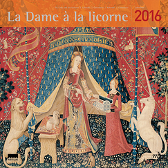 The Lady and the Unicorn 2016 Calendar