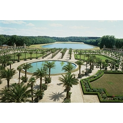 View of the Orangery of the Palace of Versailles