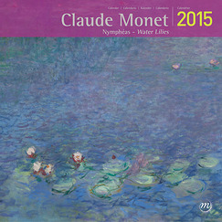 Claude Monet Water Lilies 2015 Calendar