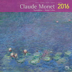 Claude Monet Water Lilies 2016 Calendar