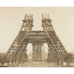 Eiffel Tower: assembly of the pillars above the 1st floor pillar