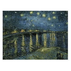 Poster The Starry night by Van Gogh