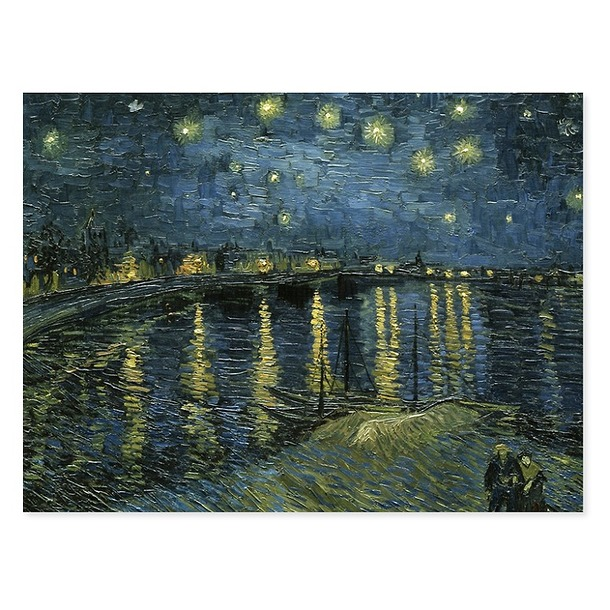 Van Gogh Poster Starry night over the Rhône