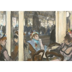 Women at the Terrace of a Café