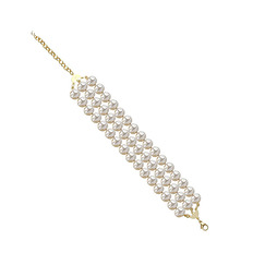 Queen's Pearls Bracelet - 3 rows